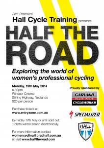 HALF THE ROAD Movie Monday, 19 May