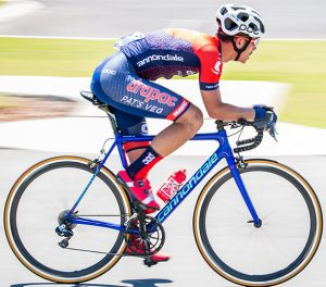 Theo Yates in Drapac Pats Veg kit