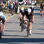 Tyler Lindorff wins the sprint