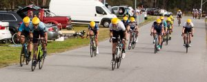 Luke Collum wins the bunch sprint