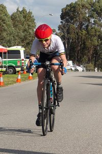 State under 13 road race champion Fraser McRobbie